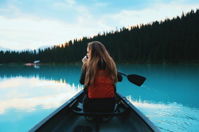canoe girl